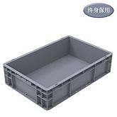 Raxwell EU系列灰色周转箱EU46148 尺寸(mm),600*400*148