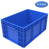 Raxwell EU系列蓝色周转箱EU4628 尺寸(mm),600*400*280