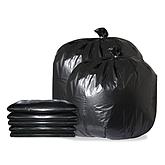 Raxwell 加厚垃圾袋 70*80cm 黑色,双面3丝 (50只/包,20包/袋)