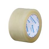 Raxwell BOPP普透优质封箱胶带,规格宽度*长度*厚度:60mm*50m*0.048mm,60卷/箱