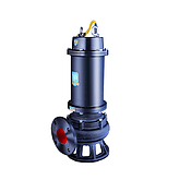 Raxwell WQ(D)潜水排污泵WQ100-15-7.5,380V,DN150,法兰连接,带出水弯管,电缆长度7米