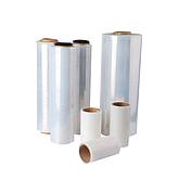 Raxwell 手动缠绕膜,300mm*0.02mm,长度300m,含卷轴1.8kg/卷,不含轴1.5kg/卷  4卷/箱